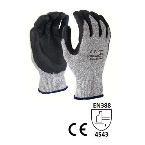 Accsafe Cut Resistant 5 Safety Gloves 758034