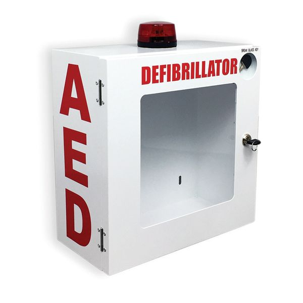 AED Wall Mount Enclosure With Alarm