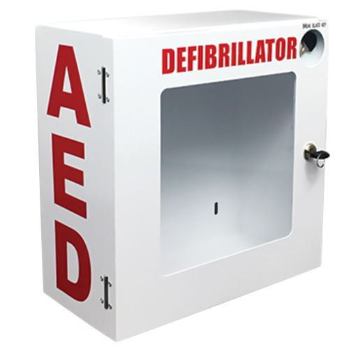 Lifeline Aed Wall Mount Enclosure With Signage & Cpr Poster 40/2120