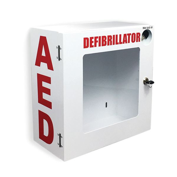 AED Wall Mount Enclosure without Alarm