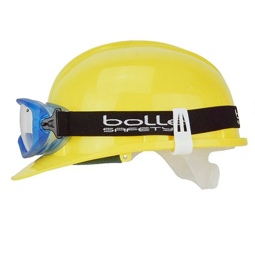 "Al-gard ""rain Drop Type"" Google Band Clip for Helmet Yellow"