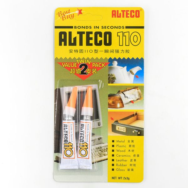 Alteco 110 Super Glue Twin (2 Packs)
