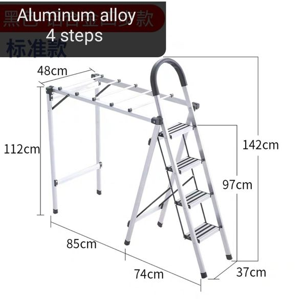 Aluminium Alloy 4 steps ladder