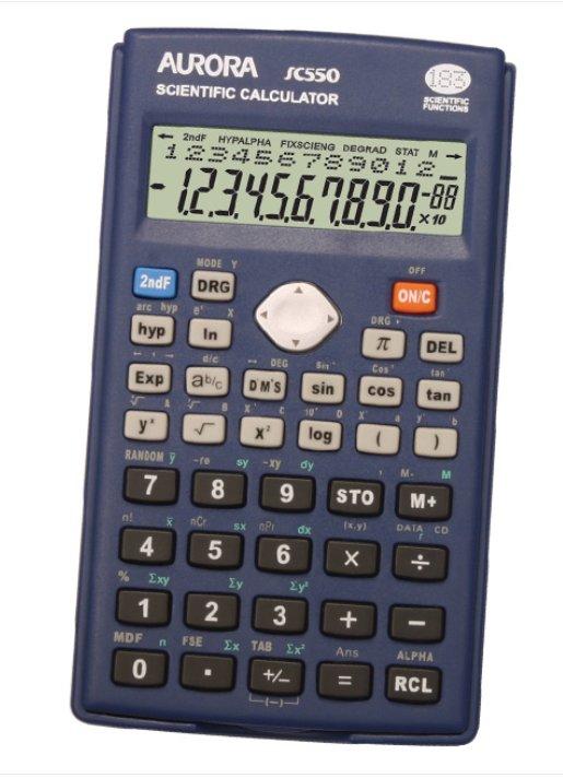 Aurora Calculator SC550