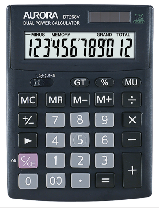 Aurora Calculator DT268V
