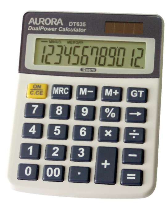 Aurora Dualpower Calculator Dt635