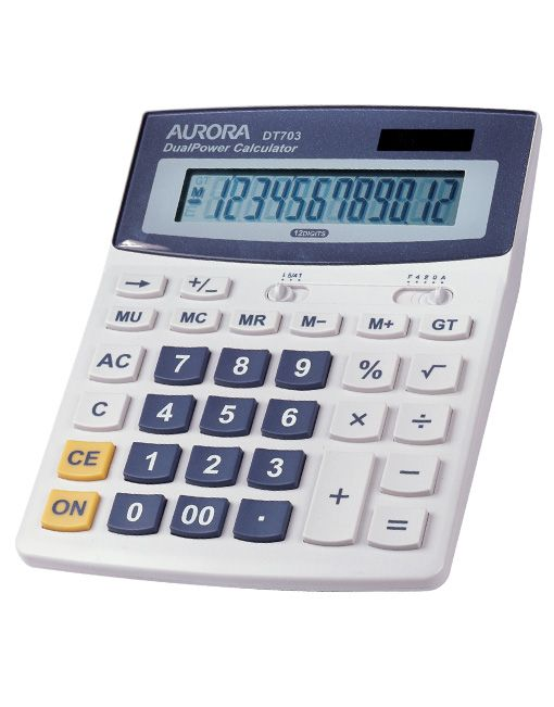 Aurora DT703 12 Digits Calculator