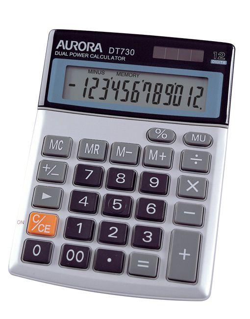 Aurora DT730 12 Digits Calculator