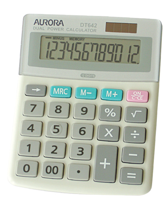 Aurora Dualpower Calculator DT642