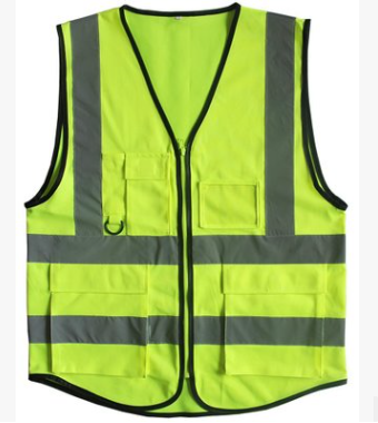Accsafe Safety Vest Yellow With Pockets VB4P