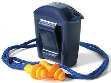 3M Corded Reusable Earplug with Carry Case 1271 (100 Pairs/Box)