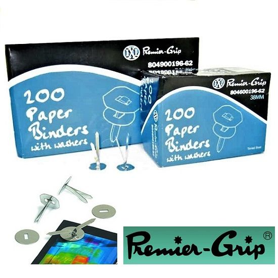 Binder With Washer - Premier Grip - 38mm