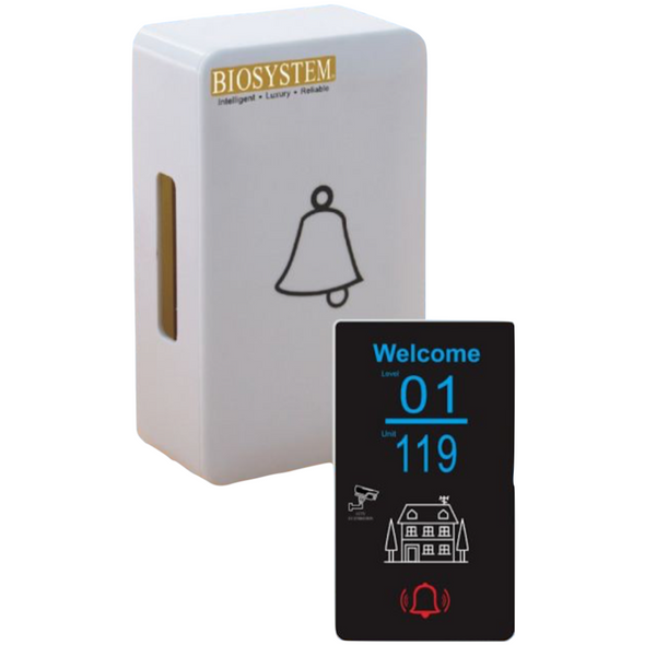 Biosystem Led Digital Door Plate LD09