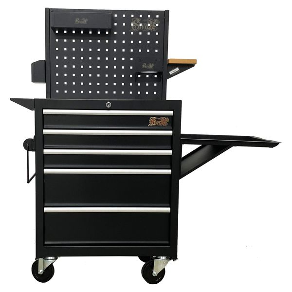 """Boxo 22"""" Tattoo Trolley With 5 Drawer Cabinet AT22AA05"""