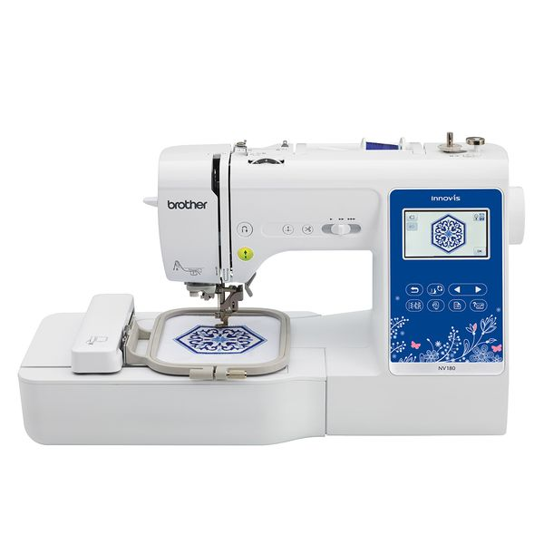 Brother 3-in-1 Sewing + Embroidery + Quilting Machine NV180