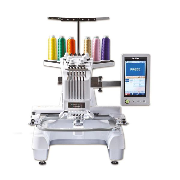 Brother 6-needles Embroidery Machine PR670E
