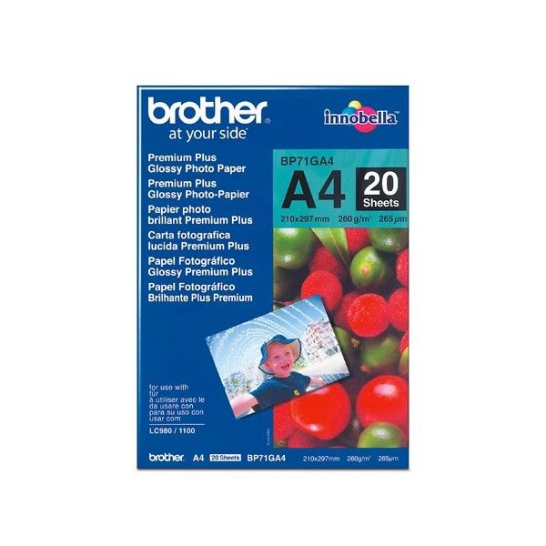 Brother Glossy Paper BP71GA4 AP