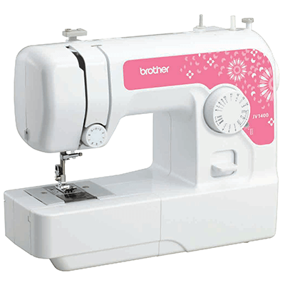 Brother Brother Light Weight Sewing Machine for Basic and Beginners JV1400