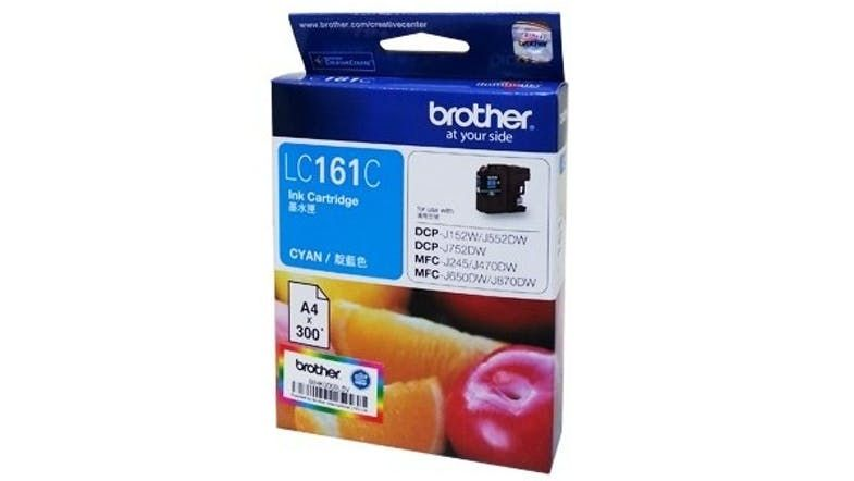 Brother Cyan Ink Bottle LC161C