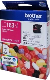 Brother Magenta Ink LC163M