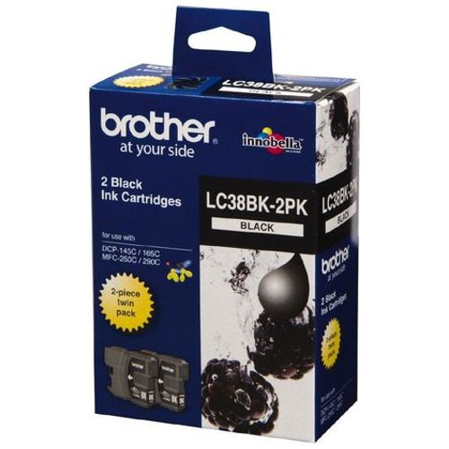 Brother Black Twin Pack LC38BK 2PK