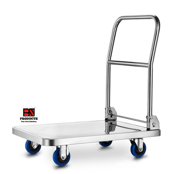 Bs Stainless Steel Foldable Trolley 300kg