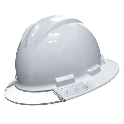 30c668e24 Bullard Aboveview Full-brim Hard Hat With Interchangeable Clear Front Brim