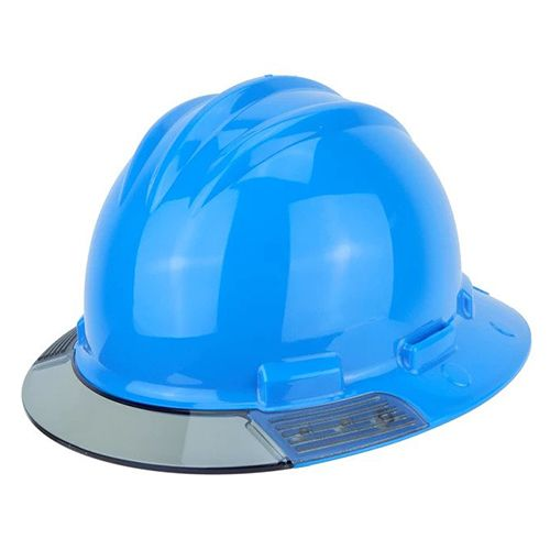 Bullard Aboveview Full-brim Hard Hat With Interchangeable Clear Front Brim