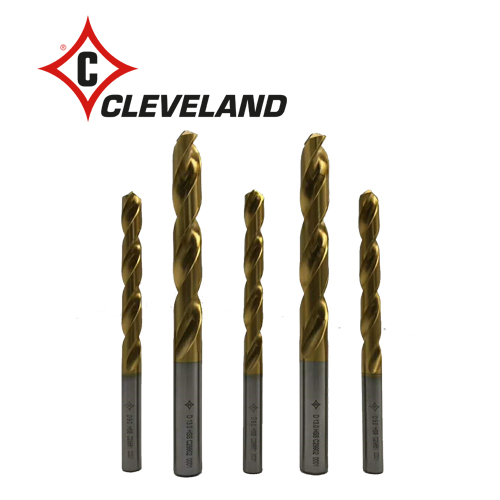 096-72 CLEVELAND HSS DRILLS TiN COATED