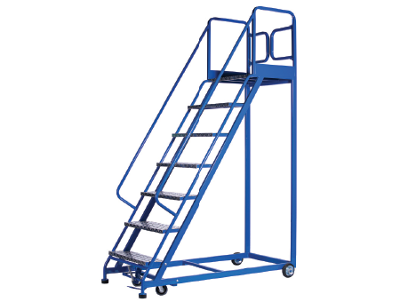 Stocky Platform Ladder Trolley Lt-step Series