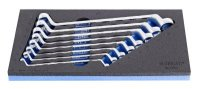Unior Set of Offset Ring Wrenches in Sos Tool Tray 964/3SOS