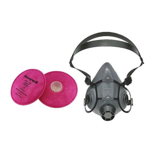P100 Respirator Mask Complete Package-Free Fit Test