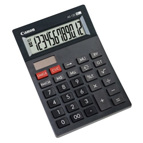 Canon Arc Calculator 12 Digits AS-120