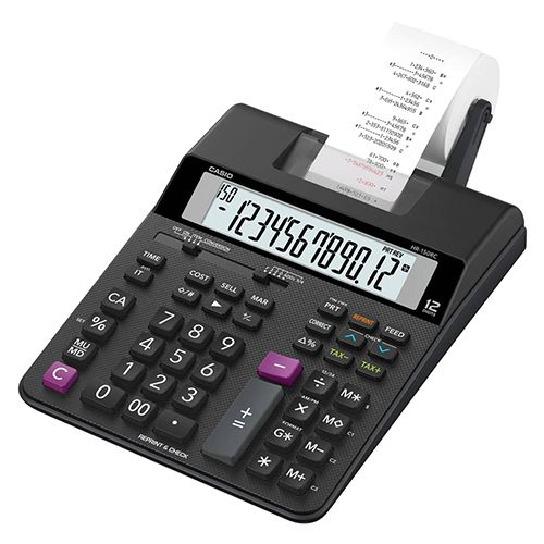 Casio Compact Printing Calculator HR-150RC