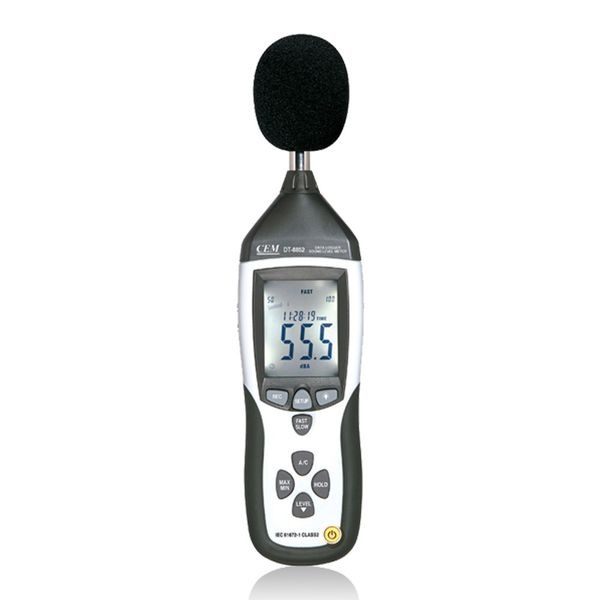 Cem DT-8852 Sound Level Meter With Data Logger