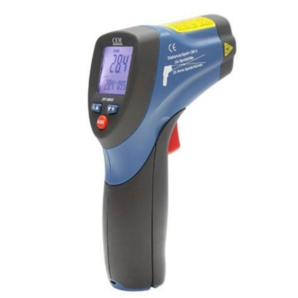 Cem DT-8865 Professional High Temperature Infrared Thermometer, -50~1000ºc 30:1