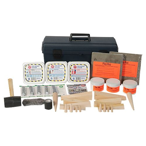 Cep Wedges Putty & Stop-it Leak Patch Kit