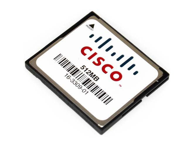 Cisco MEM-CF-256U512MB Compatible Factory Original 512mb Compact Flash