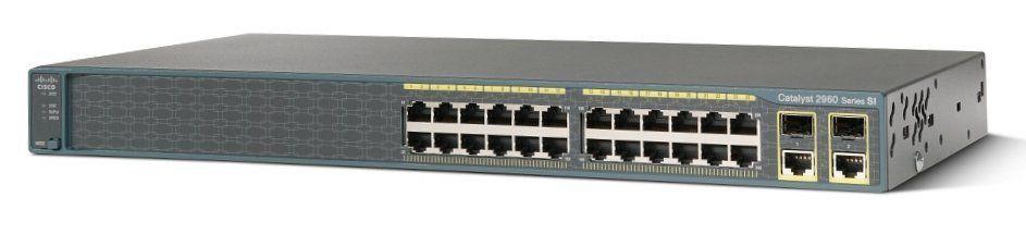 (cisco Refresh) Cisco Ws-c2960+24pc-s Catalyst2960plus24 10/100poe+2 T/sfp Lan Lite