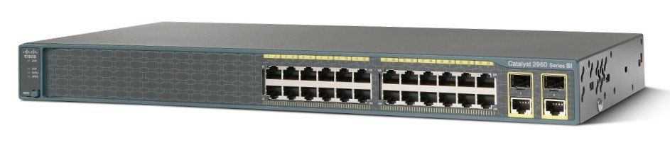 Cisco Ws-c2960+24tc-s Catalyst 2960-24tc-s Managed Ethernet Switch