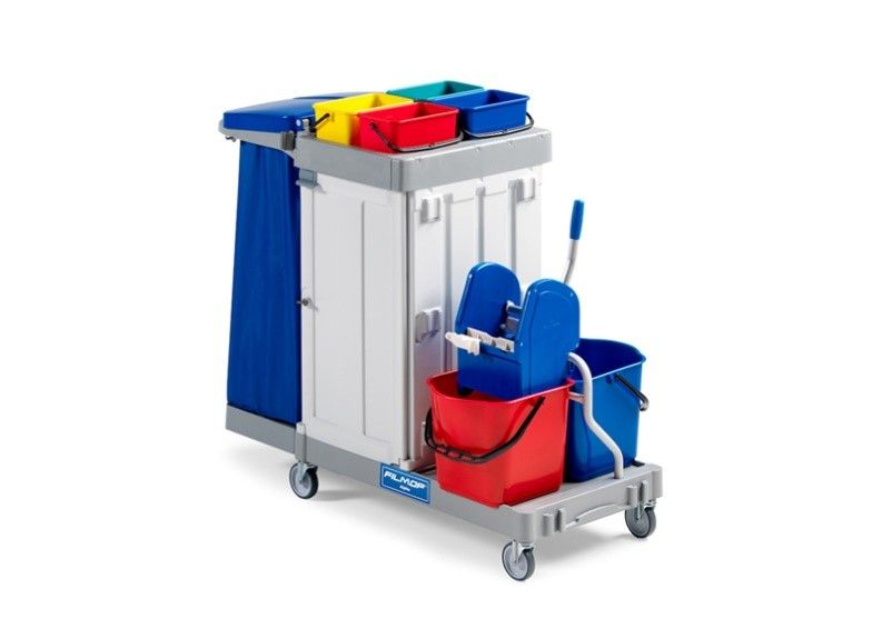 Consolidated - FILMOP ALPHA 6102 JANITOR CLEANING TROLLEY COMPLETE SET