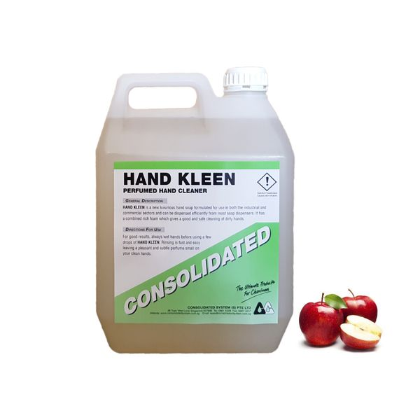 Consolidated Hand Kleen Apple Moisturizing Hand Soap | 4x5l 25l