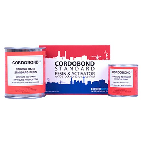 Cordobond Standard Resin and Activator 454g - IMPA 812301
