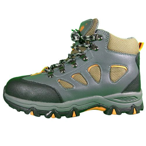 D&d Sport Type Laced Safety Shoe Green - 8868