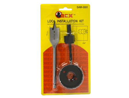 Orex 3Pcs Lock Installation Kit ( 12pcs/ Pack )