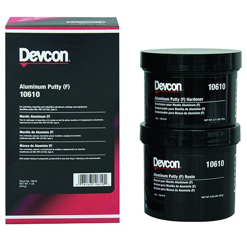 Devcon Aluminium Putty (f) 500g - 10610