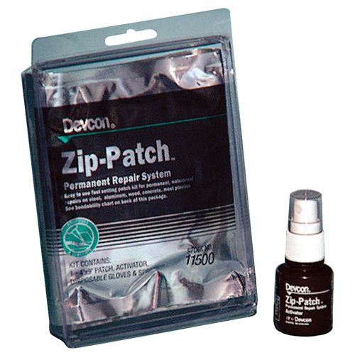 "Devcon Zip Patch Permanent Repair System 4"" X 9"" - 11500"