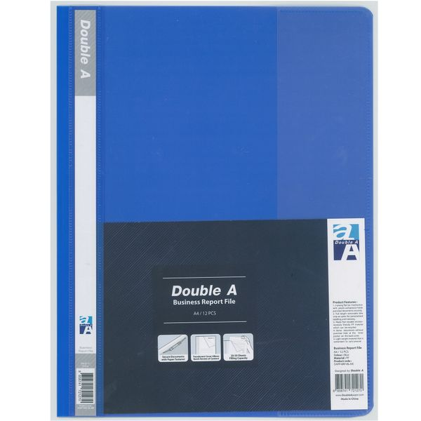 Double a Report File Blue (12s)