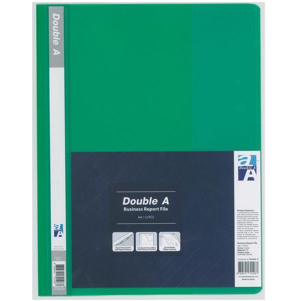 Double a Report File Green(12s)