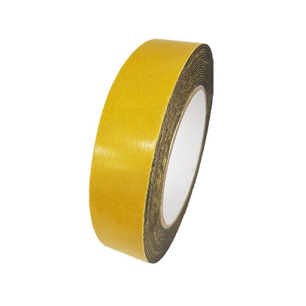 Yih Hwa Double Sided Foam Tape 10m (black)
